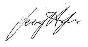 Jeremey Hodge Signature